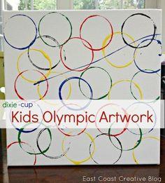 Gymnastics Crafts, Gymnastics Camp, Olympic Gymnastics, Tumbling Gymnastics, Olympic Games For Kids, Olympic Idea, Kids Olympics, Summer Olympics, Special Olympics