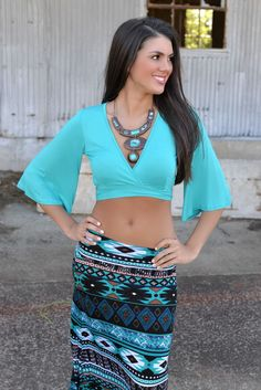 Night Moves Maxi Skirt