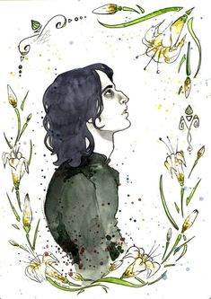 Young Severus by Marina-Undina