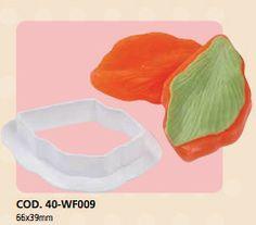 Strumenti e articoli x fiori : Kit cutter + venatore fiori e foglie Italian Cake Art 2pz