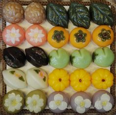 Korean rice cakes for upcoming thanksgiving day- to shape- ref.
