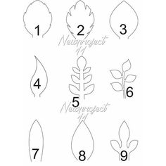 Leaf Template Handmade Item Instant Digital Download : 1 PDF included Materials: our downloadables files, paper, glue, scissors, pencil made to order questions? contact the shop owner Create your own paper flowers using newproject_11 templates Our templates are designed for those who want to create their own paper for their next special event Payment I accept direct PayPal payments Shipping All orders will be shipped to your email address Please provide your email address, template number...