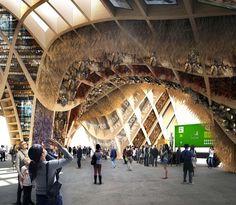 Declinazioni del legno ad Expo Milano 2015 | Campesato | Serramenti in Legno e Legno/Alluminio | Padova | Padiglione della Francia | Fonte: www.aasarchitecture.com
