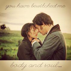 Pride & Prejudice so romantic and wonderful love watching this movie. Makes me feel so warm inside!