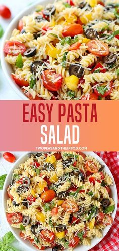 Spektakulär A quick and easy Pasta Salad recipe perfect for the summer! This easy pasta wohnzimmer. A quick and easy Pasta Salad recipe perf. Healthy Pasta Salad, Easy Pasta Salad Recipe, Best Pasta Salad, Easy Pasta Recipes, Healthy Pastas, Healthy Salad Recipes, Pasta Salad For Kids, Summer Pasta Salad, Ham Salad