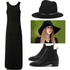 zoe benson- AHS coven by meregrace111 on Polyvore featuring polyvore fashion style Mulberry rag & bone Coven