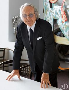 Q+A: Architect Richard Meier would love to have him do my house......
