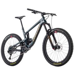 Santa Cruz Bicycles - Nomad Carbon CC X01 Reserve RCT Coil Complete Mountain Bike - 2018 - Blue