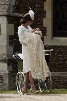 Kate Middleton Photos - The Christening of Princess Charlotte - Zimbio