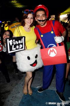 Final Lap and Mario Kart #carnaval #fantasia #creative #costume #Halloween…