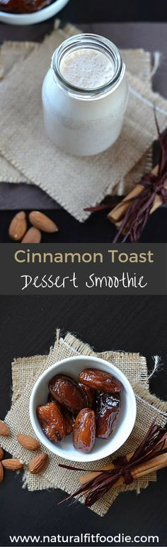 Who says you can't have dessert on a juice cleanse?! This creamy, delicious cinnamon toast dessert smoothie is chock full of healthy nourishing ingredients. Life is just too short to skip dessert!