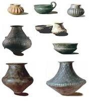 Halstatt, Slovakia - Molpír. ceramics