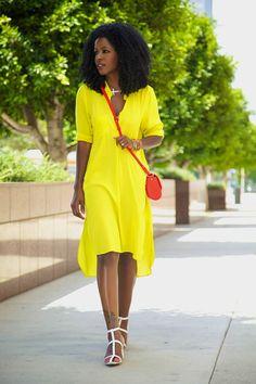 StylePantry...Yellow Tunic