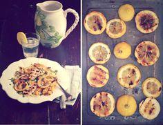 Couscous estivo con limone, pollo e peperoni alla piastra ~ tonight's dinner!