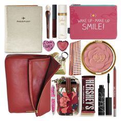 """""""What`s in my bag?"""" by grozdana-v ❤ liked on Polyvore featuring beauty, Eddie, FOSSIL, NARS Cosmetics, Milani, Wild & Wolf, Trish McEvoy, Urban Decay, Mason Pearson and Accessorize"""