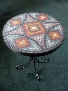 Table top More Mosaic Artwork, Mosaic Wall Art, Mosaic Glass, Mosaic Tiles, Mosaic Crafts, Mosaic Projects, Mosaic Designs, Mosaic Patterns, Mosaic Patio Table