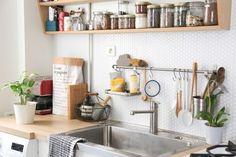 Carrelage adhésif SmartTiles Hexago pour la crédence de la cuisine
