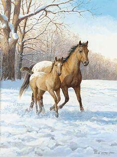 Original Paintings-Farm Scenes & Country Life | Wild Wings