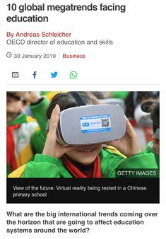 Primary School, Virtual Reality, Bbc, Education, News, Business, Image, Upper Elementary, Store