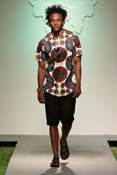 PSJ Fashion Show - Swahili Fashion Week 2015 - Male Fashion Trends