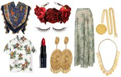 Frida Khalo costume elements