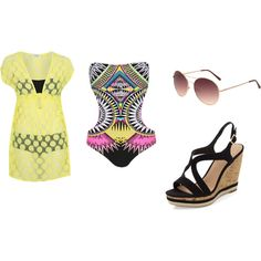 Pool side tribe by pandora26 on Polyvore