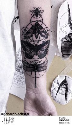 Richard Blackstar #tattoo #ink