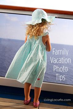 Family Vacation Photo Tips for taking better travel photos! LivingLocurto.com