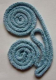 способ вязания круглых шнуров на спицах » Домашняя кулинария и ручная работа