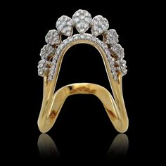 We are one of the best Indian Jewelry Store in Iselin New Jersey, known for our Diamond, Uncut Diamond and South Indian Jewelry combined with unique designs. Gold Ring Designs, Gold Bangles Design, Gold Earrings Designs, Vanki Designs Jewellery, Jewelry Design, Gold Rings Jewelry, Diamond Jewelry, Jewelery, Vanki Ring