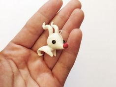 nightmare before christmas fimo | Nightmare Before Christmas Disney Zero Kawaii Charm | Nightmare Before ...