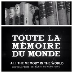 Toute la mémoire du monde - All the memory in the World (1956) directed by #AlainResnais and highlighting the Bibliothèque nationale de France.  Available with subtitles on YouTube or the #criterioncollection website.