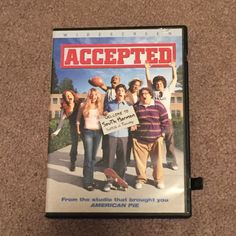 Accepted (DVD, Movie, Comedy, Widescreen, 2006, Rated-PG-13)