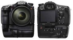 Sony A99 with vertical grip attached