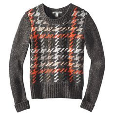 Cozy patterned knits for the cold: AUTUMN CASHMERE, $396; neimanmarcus.com #InStyle