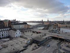 Slussen, Stockholm Stockholm, Sweden, Paris Skyline, Louvre, Architecture, Building, Travel, Amor, Arquitetura