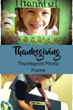 Thanksgiving Craft Picture Frame-Great for Preschoolers. Thanksgiving Art Projects, Thanksgiving Placemats, Thanksgiving Crafts For Kids, Thanksgiving Recipes, Holiday Crafts, Free Activities For Kids, Crafts With Pictures, Homemade Toys, Crafty Kids