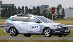 Driverless Cars in the UK Coming Soon, Next January. This photo shows Mira's driverless car. It will start driving all over UK's public roads, next January.
