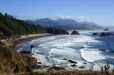 Ecola State Park in Cannon Beach, OR