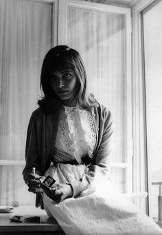"Anna Karina in Jean-Luc Godard's ""Le Petit Soldat"" (1961)"
