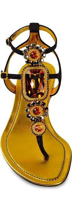 René Caovilla....oh how I love jeweled sandals and that time of year is coming.