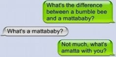 What's a mattababy?!