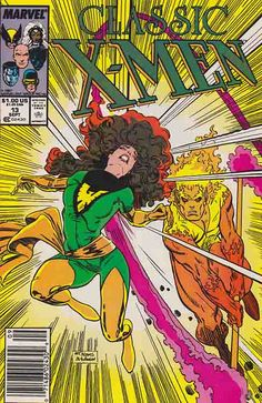 Classic X-Men #13 /  Arthur Adams Cover Art / Phoenix Unleashed! The X-Men have returned to the United States from Muir Island and have caught Erik the Red lurking in their headquarters. #xmen #comicbooks #arthuradams #marvelcomics