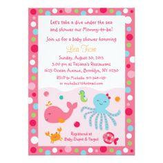 Rosa bajo invitaciones de la fiesta de bienvenida invitación 11,4 x 15,8 cm