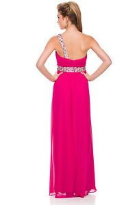 Gorgeous One Shoulder Long Dress with Sequins on The Strap and Waist Formal Prom | eBay