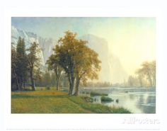El Capitan, Yosemite Valley, California, 1875 Prints by Albert Bierstadt at AllPosters.com