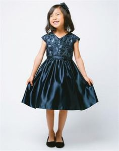 Ravishing Ribbon and Sequin Embroidered Dress | eFavorMart