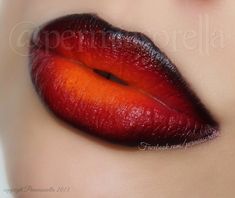 These dark ombre Cayenne Flame Lips by Kathryn P give you an intense sexy look.