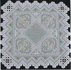 Sunshine (Hardanger embroidery)