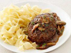 Thyme Square Herb Farm Gourmet Corner: Salisbury Steak With Mushrooms